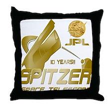 Spitzer At 10! Throw Pillow