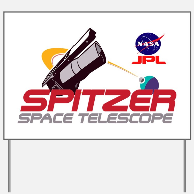 Spitzer Space Telescope Yard Sign