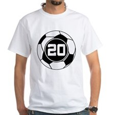 Soccer Number 20 Player Shirt