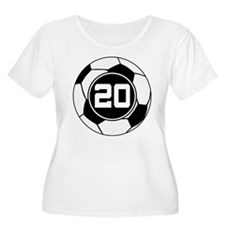 Soccer Number 20 Player T-Shirt