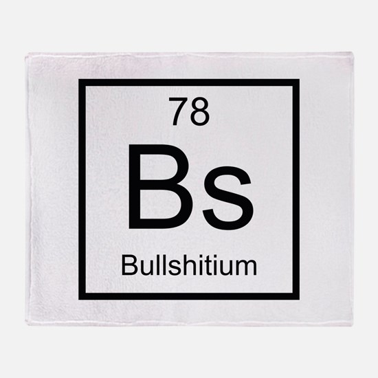 Bs Bullshitium Element Stadium Blanket