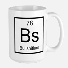 Bs Bullshitium Element Large Mug