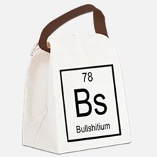 Bs Bullshitium Element Canvas Lunch Bag