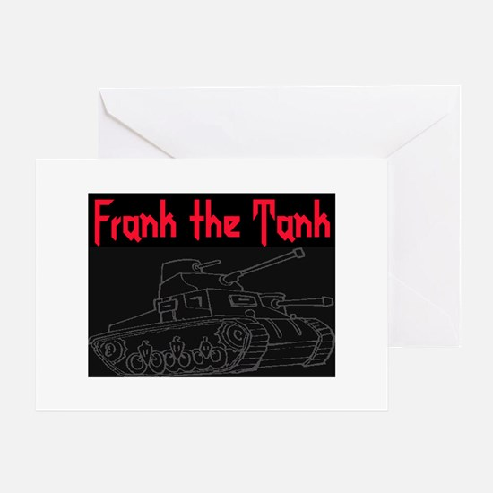 FRANK THE TANK Greeting Card