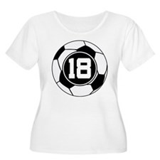 Soccer Number 18 Player T-Shirt