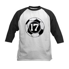 Soccer Number 17 Player Tee