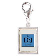 Dd Dadium Element Silver Portrait Charm