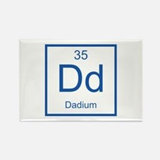 Dd Dadium Element Rectangle Magnet