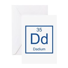 Dd Dadium Element Greeting Card