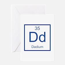 Dd Dadium Element Greeting Card