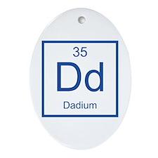Dd Dadium Element Ornament (Oval)