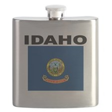 Idaho State Flag Flask