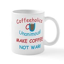 CU Coffee Not War Mug