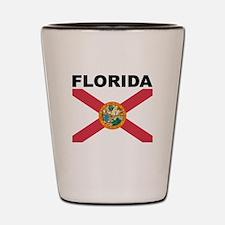Florida State Flag Shot Glass