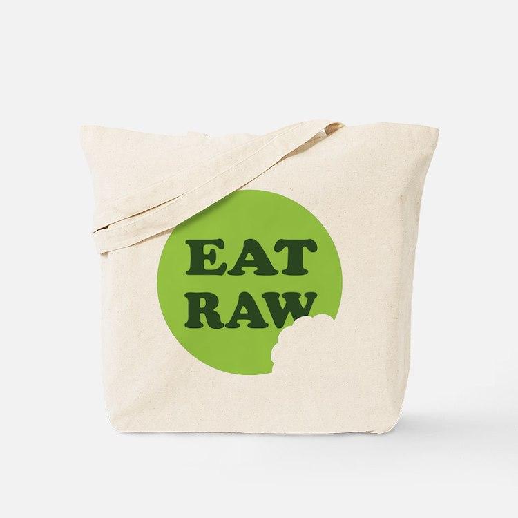 Eat Raw Tote Bag