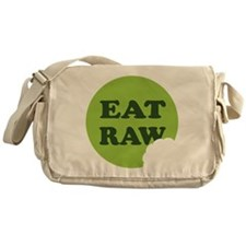 Eat Raw Messenger Bag