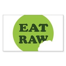 Eat Raw Decal