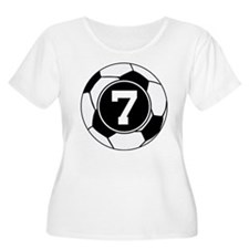 Soccer Number 7 Player T-Shirt