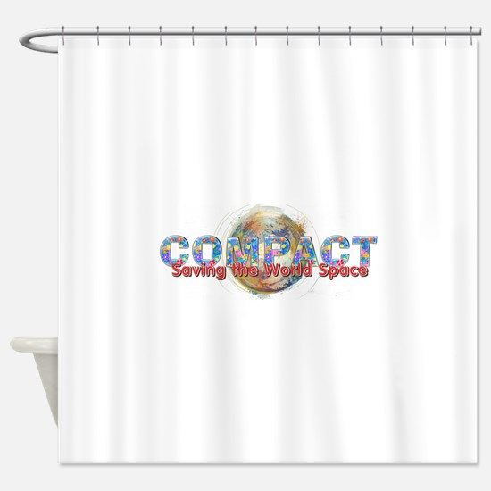 Compact Shower Curtain