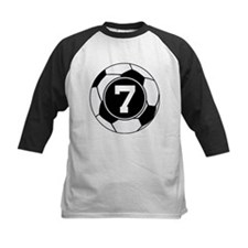 Soccer Number 7 Player Tee