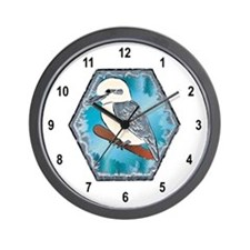 Kookaburras Bird Wall Clock