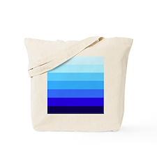 'Blue Stripes' Tote Bag