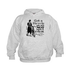 Twain Get A Bicycle Quote Hoodie
