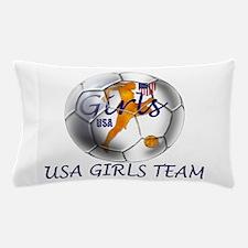 USA Girls Team Pillow Case