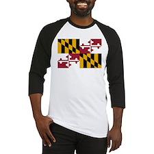 Maryland State Flag Baseball Jersey