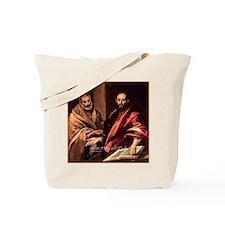 Saints Peter and Paul Tote Bag