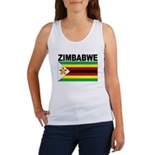 Zimbabwe Flag Tank Top