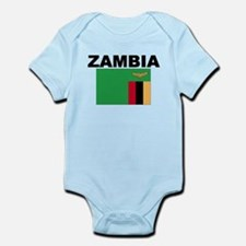 Zambia Flag Body Suit