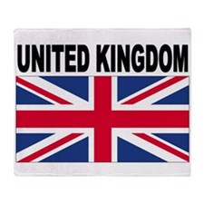 United Kingdom Flag Throw Blanket