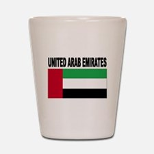 United Arab Emirates Flag Shot Glass