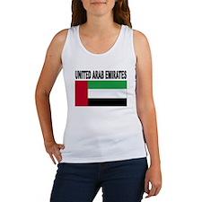 United Arab Emirates Flag Tank Top