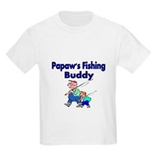 Papaws Fishing Buddy T-Shirt
