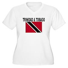Trinidad and Tobago Flag Plus Size T-Shirt