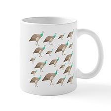 Peahen Pattern. Mug