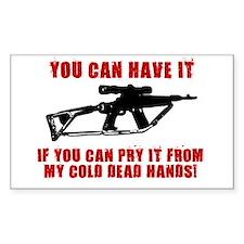 2ND AMMENDMENT GUN SHIRT Decal