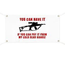 2ND AMMENDMENT GUN SHIRT Banner