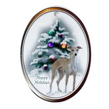 Italian Greyhound Ornament (Oval)