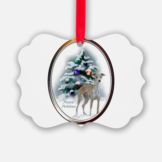 Italian Greyhound Christmas Ornament