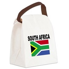 South Africa Flag Canvas Lunch Bag