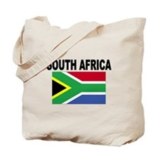 South Africa Flag Tote Bag