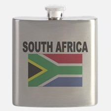 South Africa Flag Flask