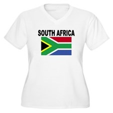 South Africa Flag Plus Size T-Shirt