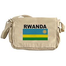 Rwanda Flag Messenger Bag