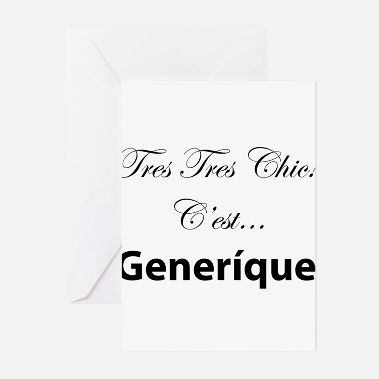 Generique Greeting Cards