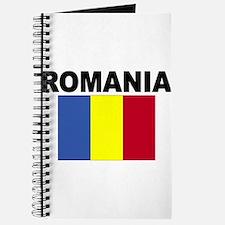 Romania Flag Journal