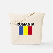Romania Flag Tote Bag